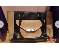 Crno smeda torbica