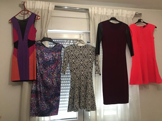 Zara, Miss Selfridge i H&M Haljine, 38 i 36 brojevi, ne nošene