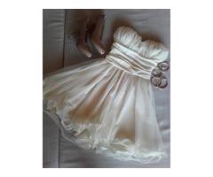 Svecana bijela haljina *jednom nosena, kao nova