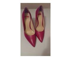 ***NOVE*** potpuno kožne crvene cipele, Bata, 38