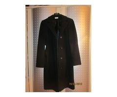 Crni dugi kaput /JURGEN MICHAELSEN od vune