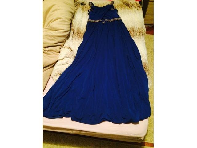 Coast haljina maxi plava 40