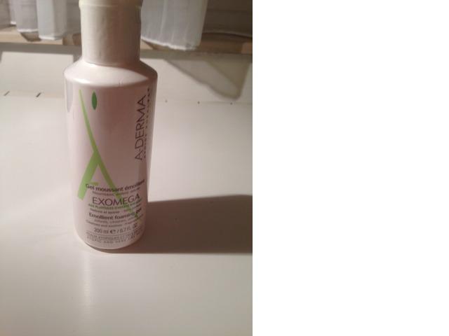 A-Derma Exomega pjenušavi gel
