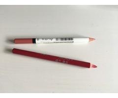 Transparentni puder + olovke za usne