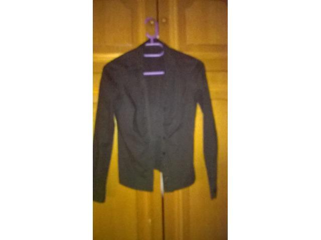 Sivo-crna SISLEY košulja