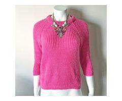 Zara ružičasti pulover