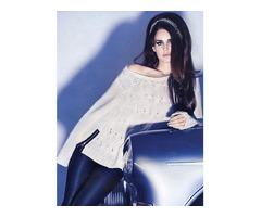 Bijela majica H&M by Lana Del Rey