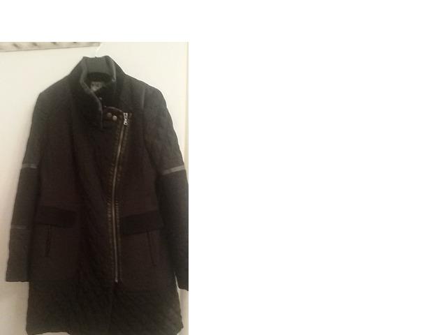 Crni casual kaput/jakna