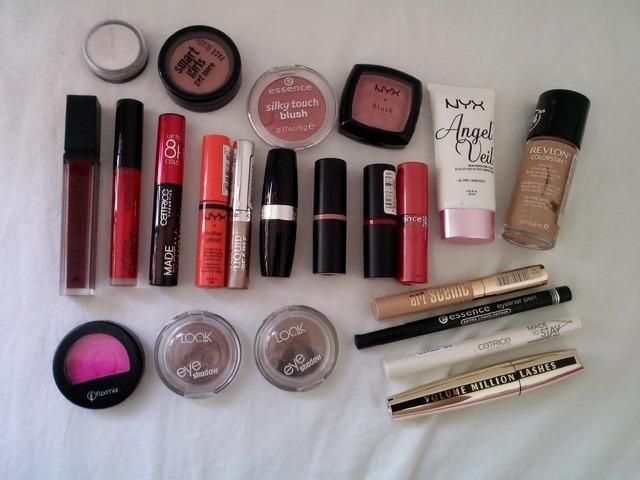 LOT korištene i nekorištene kozmetike