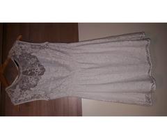 Zara bijela haljina cipka