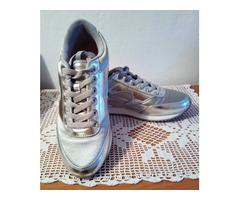 H&M divided srebrne tenisice