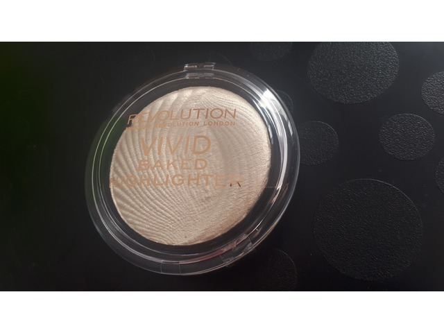 Makeup Revolution Vivid Baked Highlighter - Golden Lights