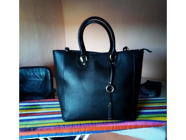 Velika crna viktor torba/novo