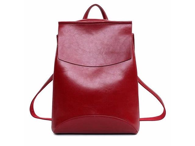 Tamno crveni ruksak/torba (novo)