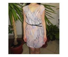 Ljetna ljubičasta haljina