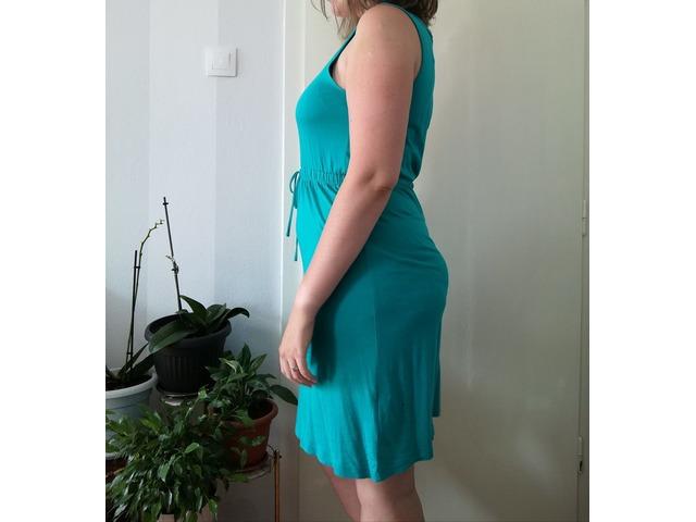 Tirkizna haljina, broj 42