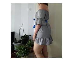 Karirana haljina, broj 40