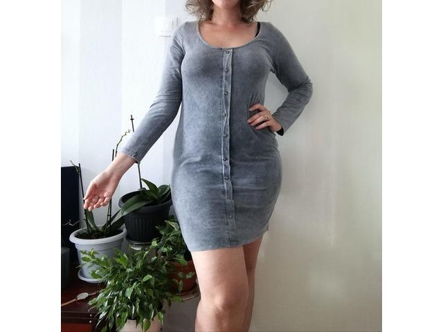 Siva jesenska haljina, broj 42