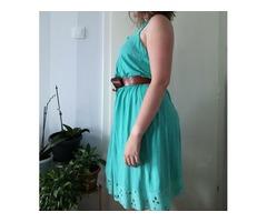 Zelena ljetna haljina, broj 42