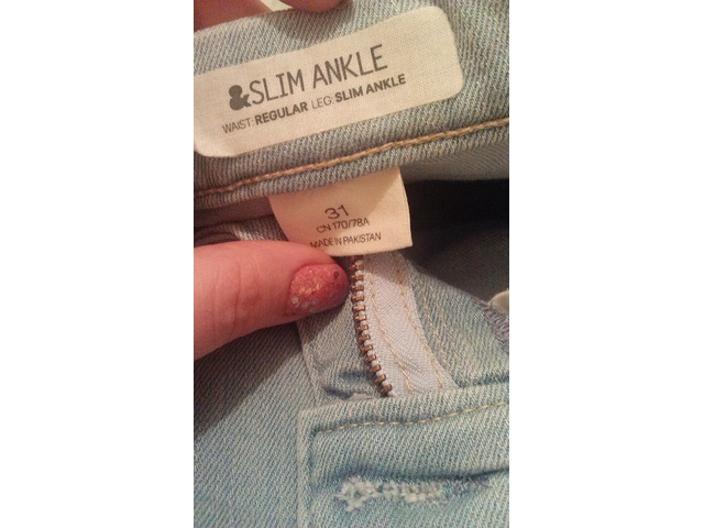 H&M baby jeans traperice