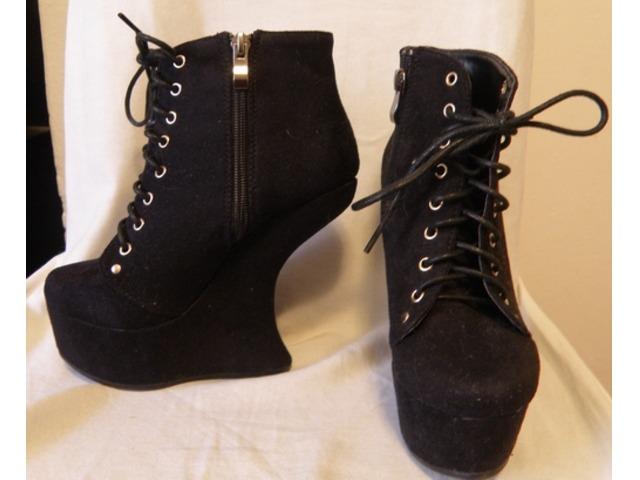 heelless crne cipele