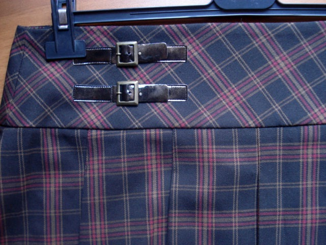 Orsay karirana suknja