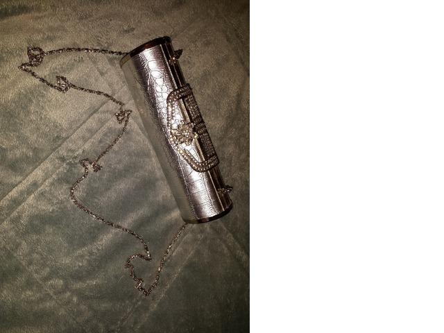 Prekrasna srebrna torbica